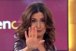 Fátima Bernardes comanda o Encontro na Globo. (Foto: Reprodução)