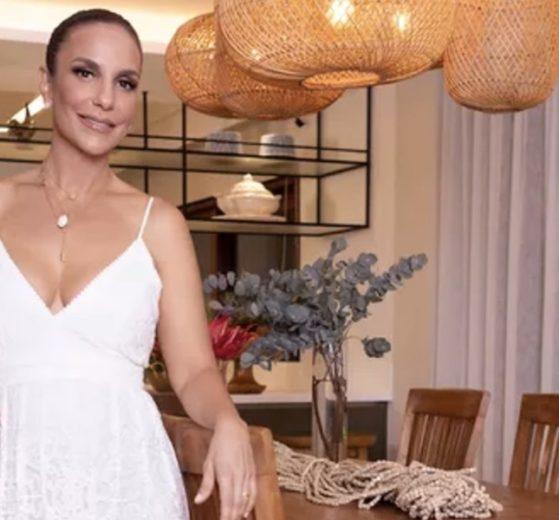 Ivete Sangalo ergueu mansão de luxo na Bahia. (Foto: Divulgação)