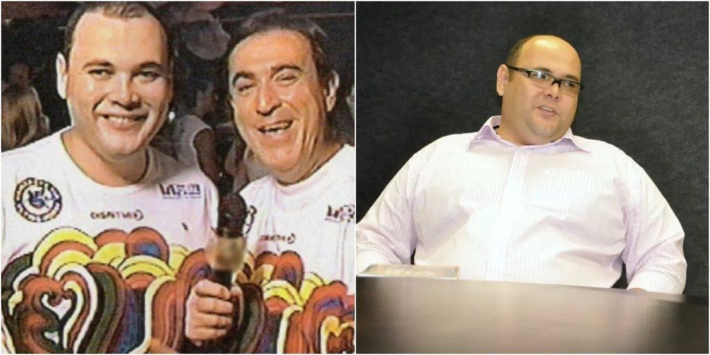 Marcelo Nascimento da Rocha enganou atores da Globo e deu entrevista para Amaury Jr. (Foto: Montagem/Reprodução)