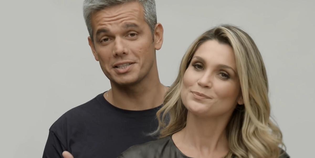 Otaviano Costa e Flávia Alessandra revelam porque não usam alianças. (Foto: Reprodução)