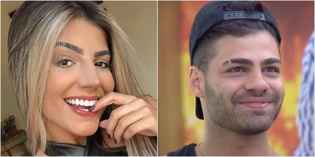 Hariany Almeida está namorando o DJ Netto. (Foto: Montagem/Reprodução) BBB