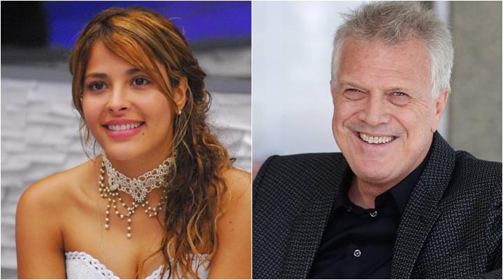 Ex-BBB Gyselle Soares revela que já beijou Pedro Bial. (Foto: Montagem/Divulgação)
