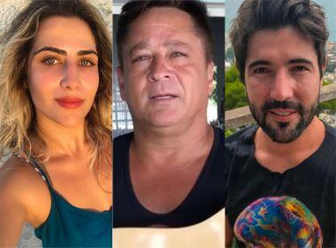 Jessica Costa, Leonardo e Sandro Pedroso (Foto: Divulgação)