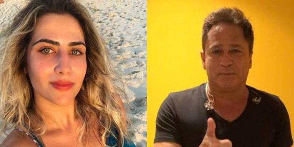 Jéssica Costa e Leonardo ficaram um tempo sem se falar (Foto: Montagem/TV Foco)