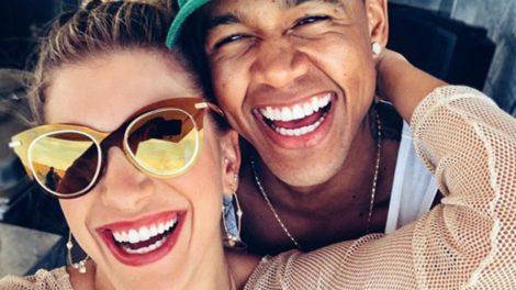 Leo Santana e Lorena Improta estão juntos novamente (Foto: Reprodução)