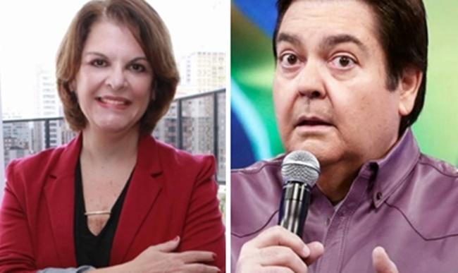 Leonor Corrêa, irmã de Faustão, não é mais contratada do SBT (Foto: Montagem/TV Foco)