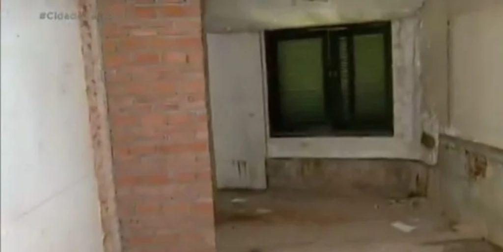 Mansão abandonada de de Hebe Camargo (Foto: Reprodução)