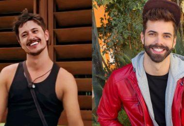 De férias com o ex: Matheus Magalhães e Rafa Vieira em 1ª suíte gay do reality (Foto: Reprodução/Instagram)