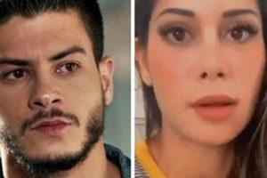 Mayra Cardi e Arthur Aguiar estão separados (Foto: Montagem/TV Foco)