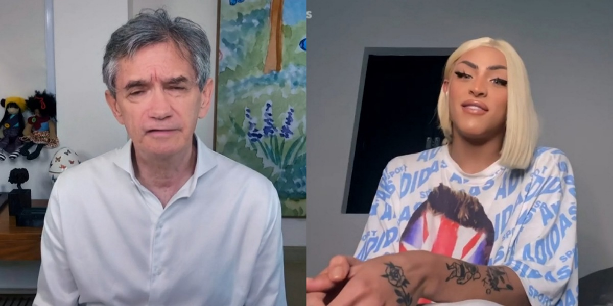 """Em participação no """"Altas Horas"""" Pabblo Vittar criticou governo de Jair Bolsonaro (Foto: Reprodução/GloboPlay)"""
