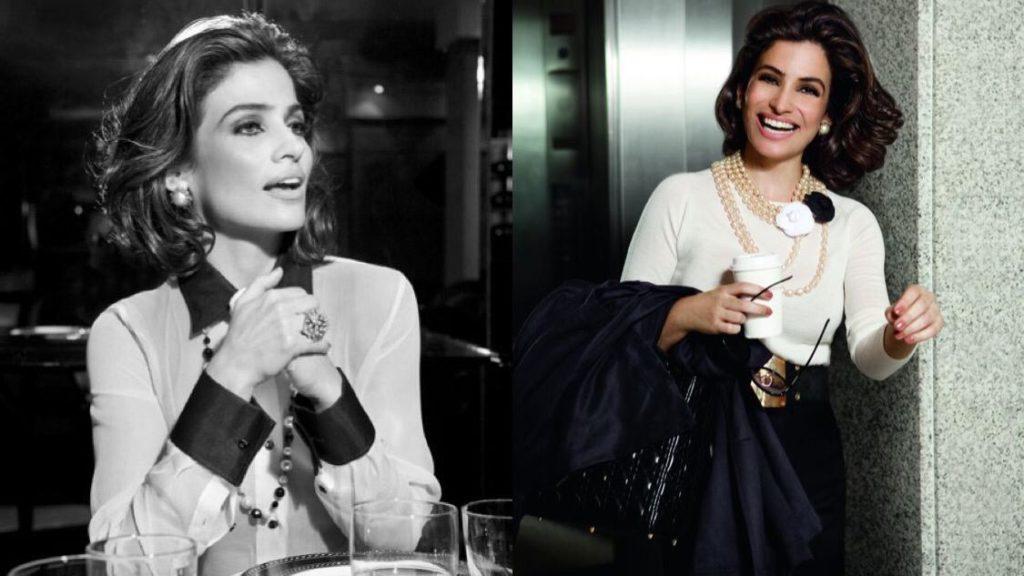 Apresentadora Renata Vasconcellos já foi modelo de marcas famosas