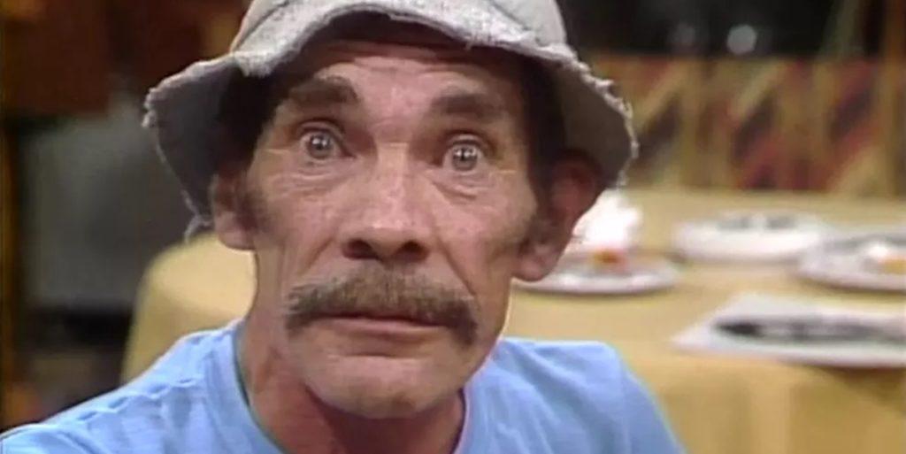 Ramón Valdés, famoso pelo personagem Seu Madrugada do seriado mexicano  Chaves morreu aos 64 anos de idade (Foto: Reprodução)