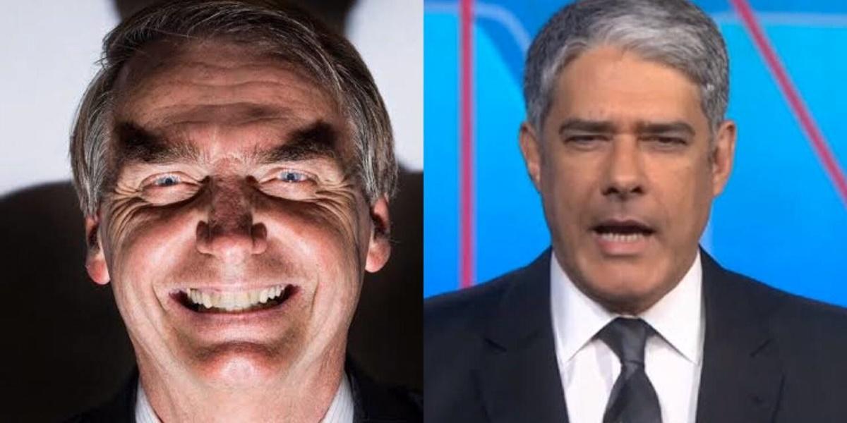 William Bonner, Jair Bolsonaro