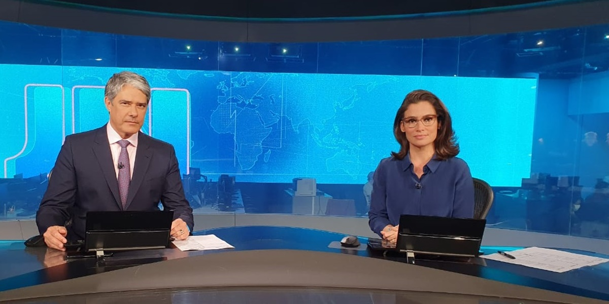 William Bonner, Renata Vasconcellos, Jornal Nacional