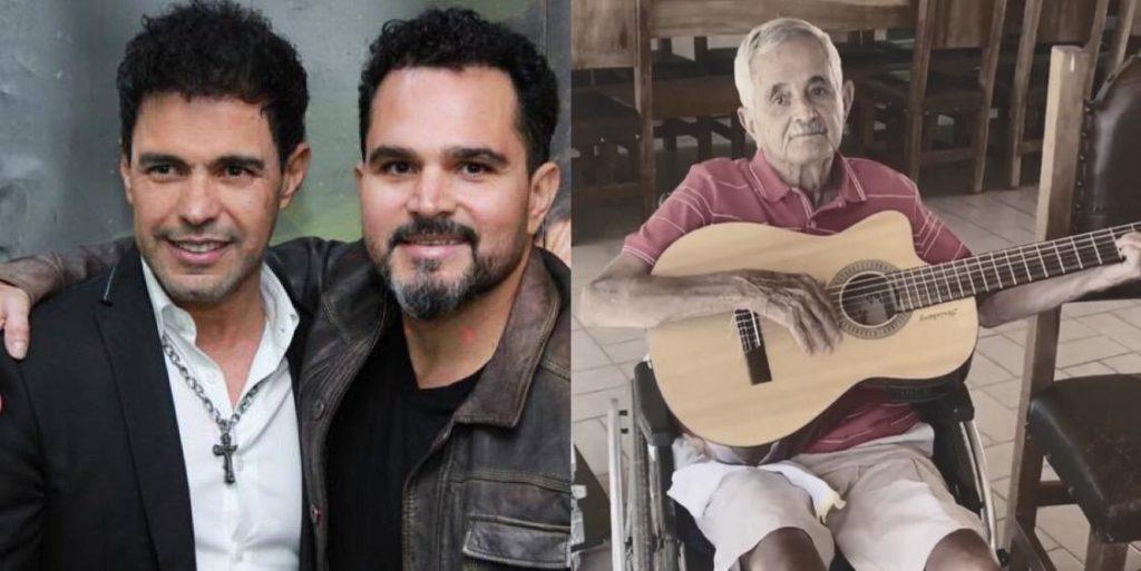 Zezé, Luciano e Francisco Camargo (Foto: Montagem)