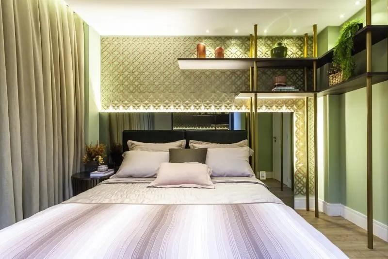 Foto do novo luxuoso apartamento de Zezé di Camargo e Graciele Lacerda (Foto: Reprodução)