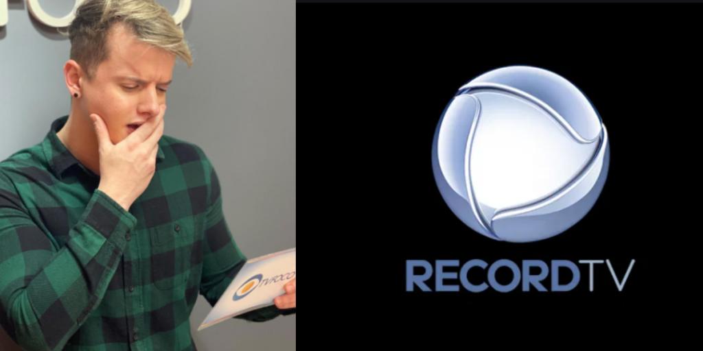 Fofoca do Aaron Tura traz uma bomba de um famoso da Record (Foto montagem)