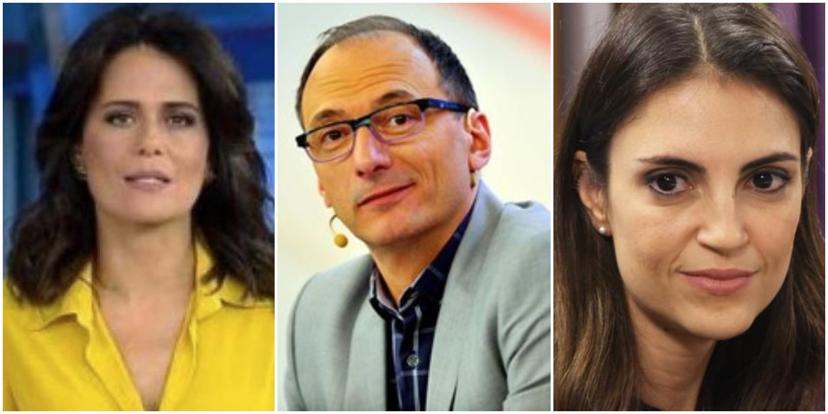 Adriana Araújo, Britto Jr e Chris Flores já foram estrelas do mais alto escalão da Record (Reprodução)
