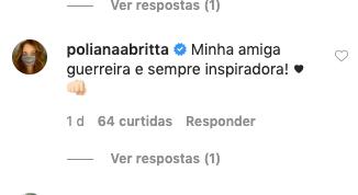Adriana Araújo recebeu solidariedade de uma global (Foto: reprodução/Instagram)