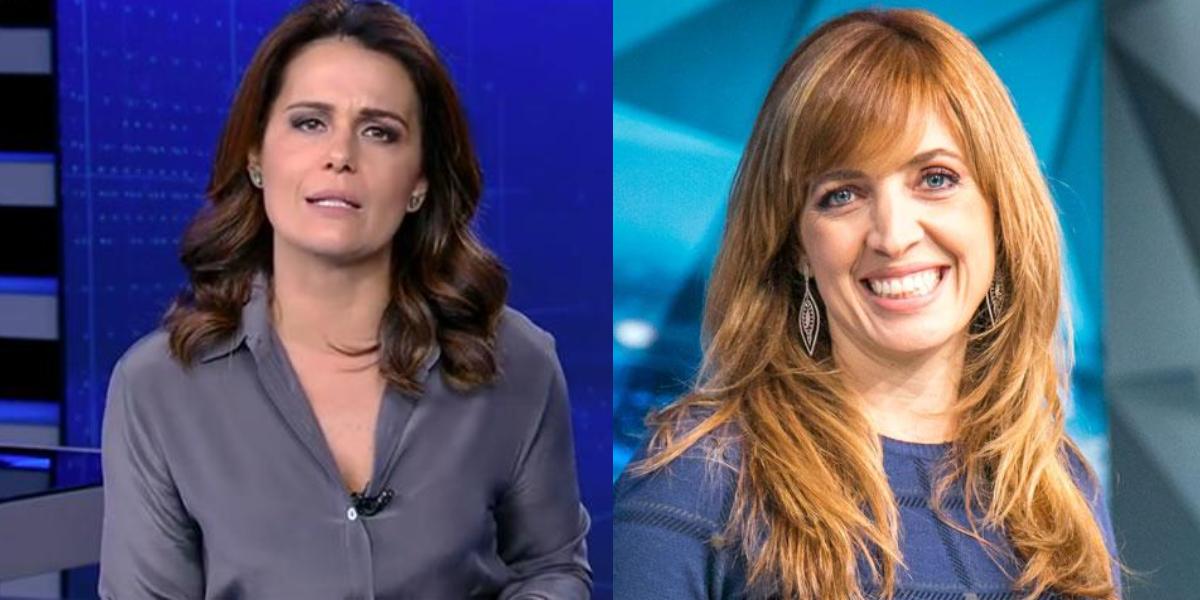Adriana Araújo recebeu uma mensagem de Poliana Abritta (Foto: reprodução)