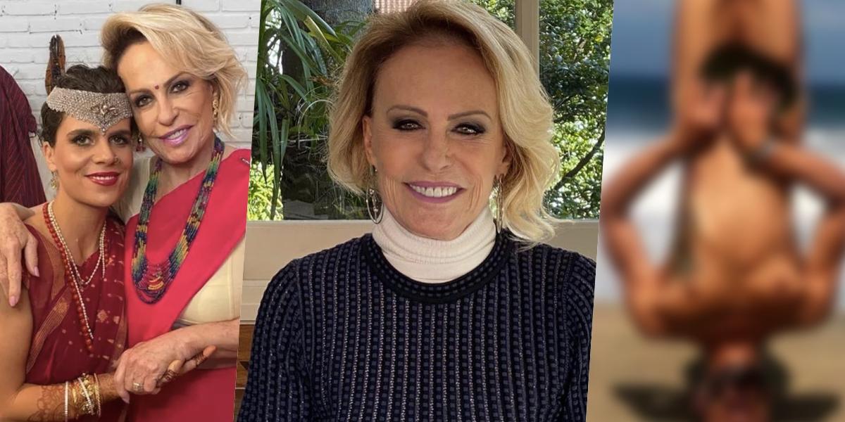 Ana Maria Braga teve o genro pelado exposto (Foto montagem: TV Foco)