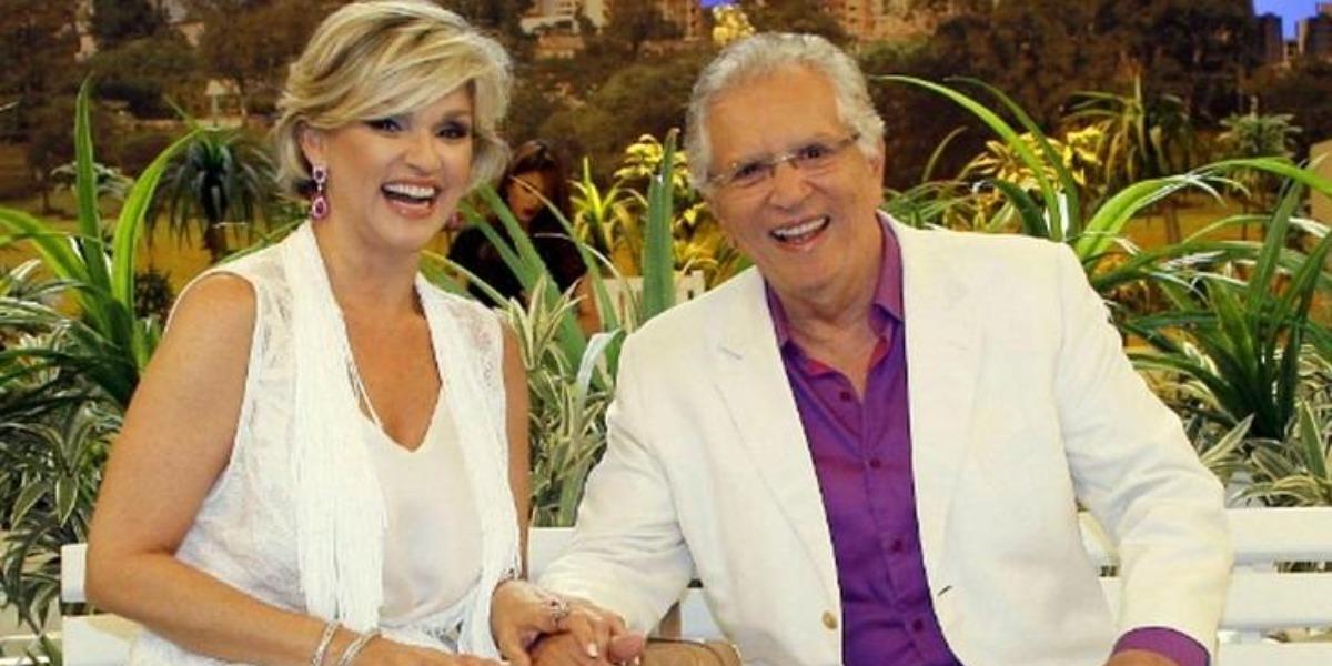 Andréa Nóbrega e Carlos Alberto foram casados por 24 anos (Foto: Reprodução/SBT)