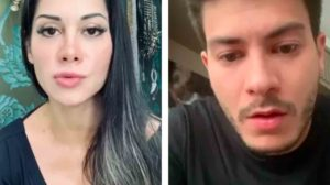 Arthur Aguiar e Mayra Cardi estão em guerra desde o fim do relacionamento (Foto: Reprodução)