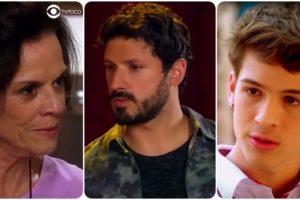 Fotomontagem do site TV Foco dos personagens Ruth, Marcelo e Luca da novela As Aventuras de Poliana