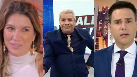Roda a Roda, Cidade Alerta e Sikêra Jr foram destaques de audiência (Foto: Reprodução/SBT/Record/RedeTV!)