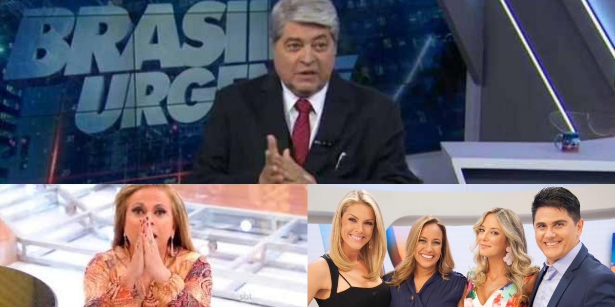 Audiência da TV 17/06: Christina Rocha fracassa, Datena derruba Band e Hoje em Dia tira Record do buraco (Foto: reprodução/Montagem TV Foco)