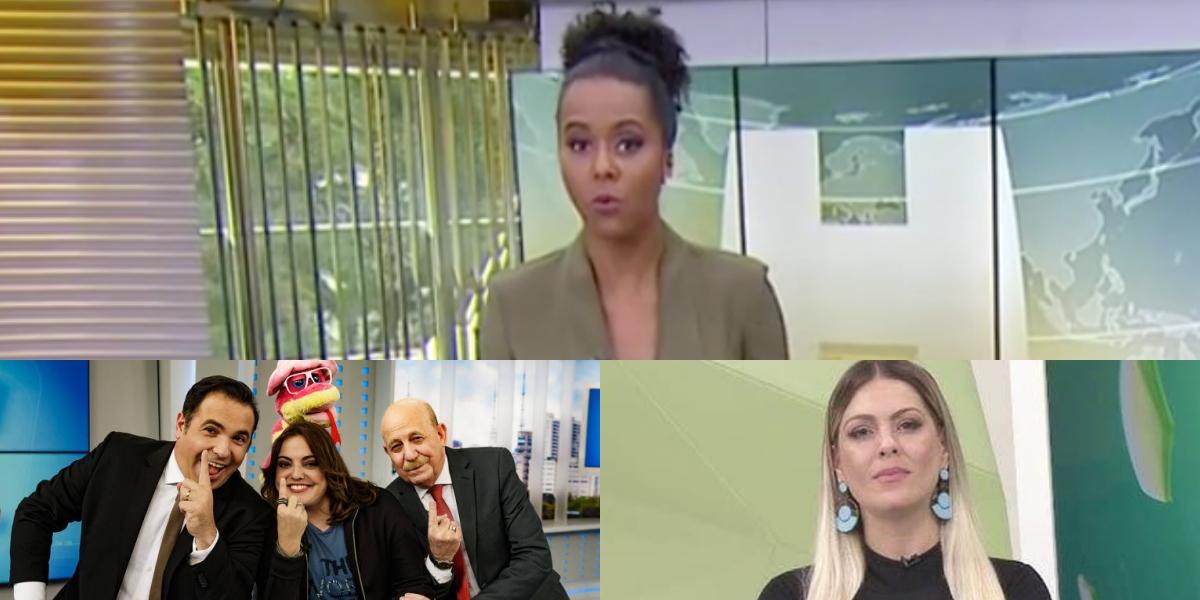 Audiência da TV 16/06: Maju Coutinho deixa rivais na pior, Venenosa sobe igual foguete e Renata Fan faz Band cair (Foto: reprodução/Montagem TV Foco)