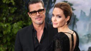 Brad Pitt e Angelina Jolie são flagrados juntos (Foto: Reprodução)