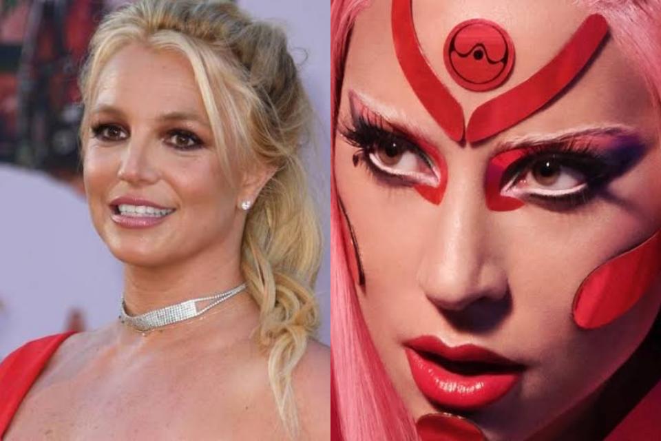 Britney Spears bate Lady Gaga e domina paradas de sucesso (Foto: Reprodução)