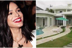 Bruna Marquezine tem mansão luxuosa em bairro nobre do RJ (Reprodução)