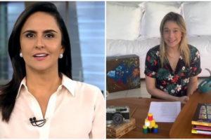 Carla Cecato e Fernanda Gentil concorrem em audiência - Foto: Montagem