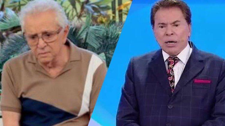 Carlos Alberto de Nóbrega relembra dicas de Silvio Santos quando entrou no SBT (Montagem: TV Foco)
