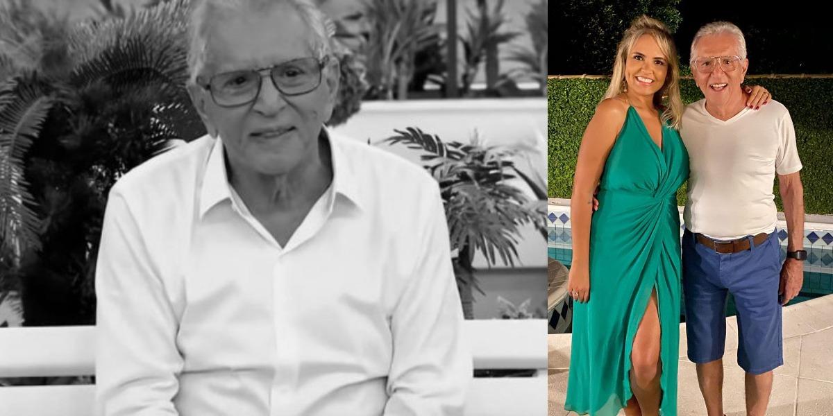 Carlos Alberto de Nóbrega e Renata Domingues (Foto: Reprodução/Instagram/SBT)