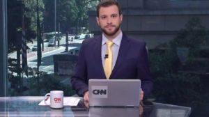 O jornalista Cassius Zilmann desabafou ao ser rebaixado na CNN Brasil - Foto: Reprodução