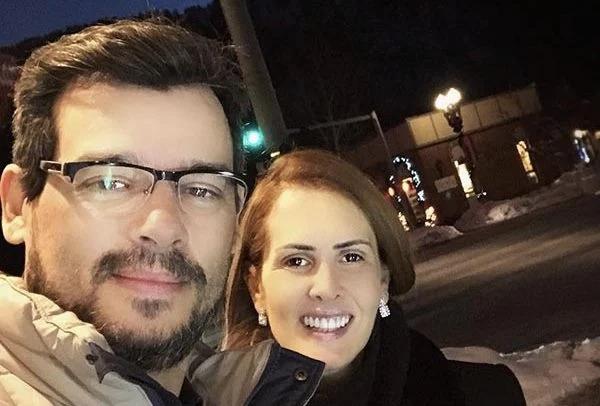 O apresentador do SBT e a esposa (Foto: reprodução)
