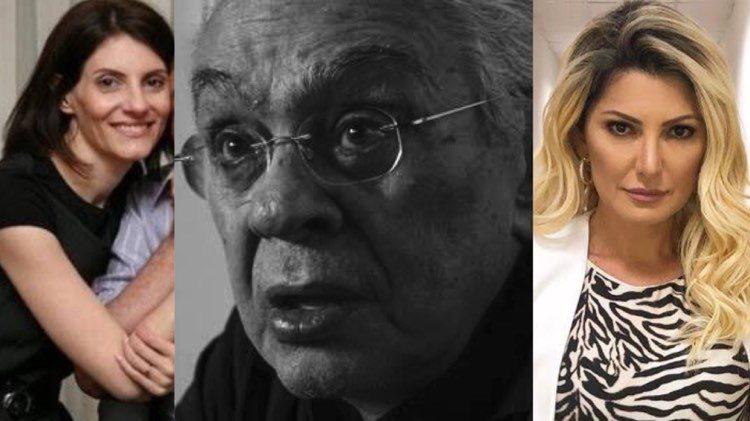 Antonia Fontenelle e Malga di Paula, viúva de Chico Anysio, são processadas por advogado do humorista após entrevista (Montagem: TV Foco)