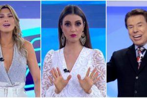 Lívia Andrade e Chris Flores são contratadas do SBT, emissora de Silvio Santos (Reprodução)
