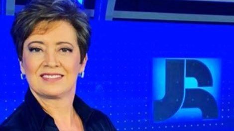 Christina Lemos é a substituta de Adriana Araújo no Jornal da Record (Foto: Reprodução)
