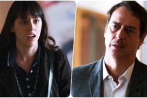 Lica e Edgar na trama de Malhação