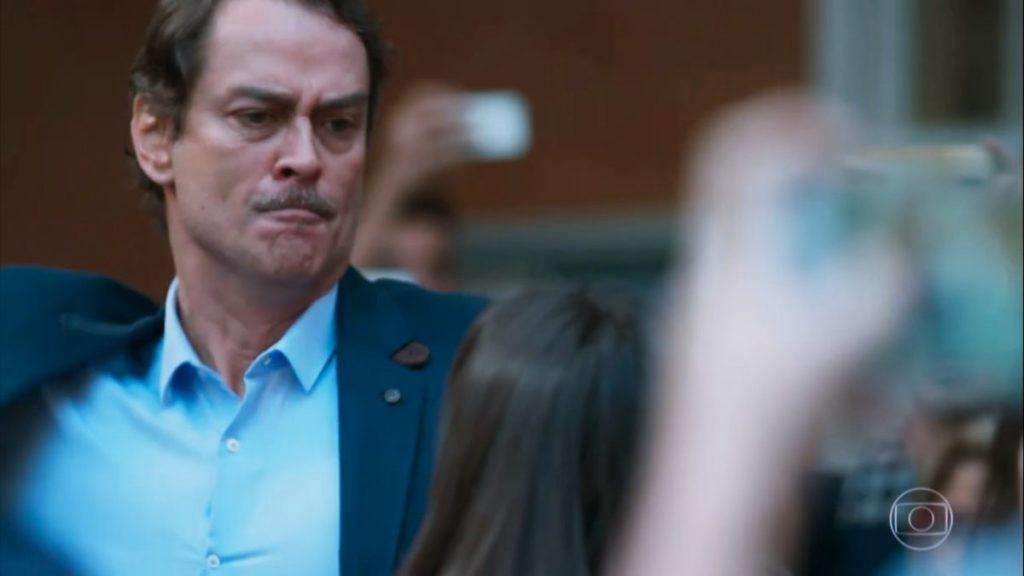 Edgar perde a linha com a filha em cena tensa de Malhação