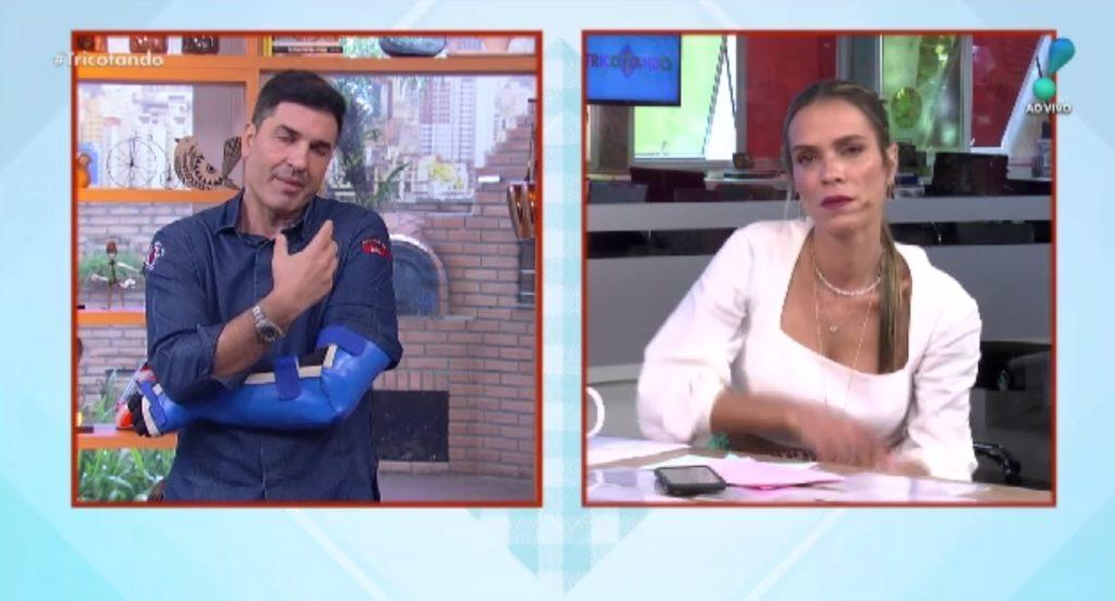 Edu Guedes desmoronou ao vivo com situação (Foto montagem)
