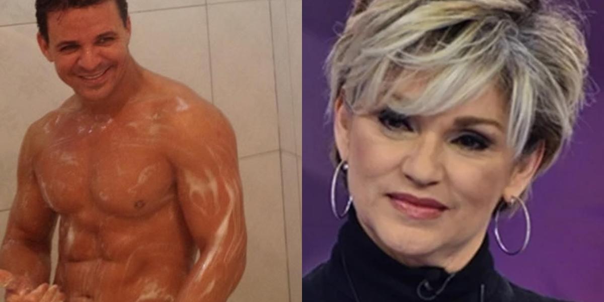 Andréa de Nóbrega comentou sobre vídeo picante de Eduardo Costa (Foto: reprodução)