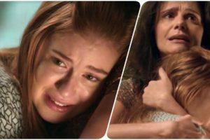 Eliza sofre no colo de Rosangela em Totalmente Demais por ter que cumprir acordo