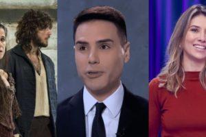 Novo Mundo, Roda a Roda e Cidade Alerta foram destaques de audiência (Foto: Reprodução/Globo/Record/SBT)