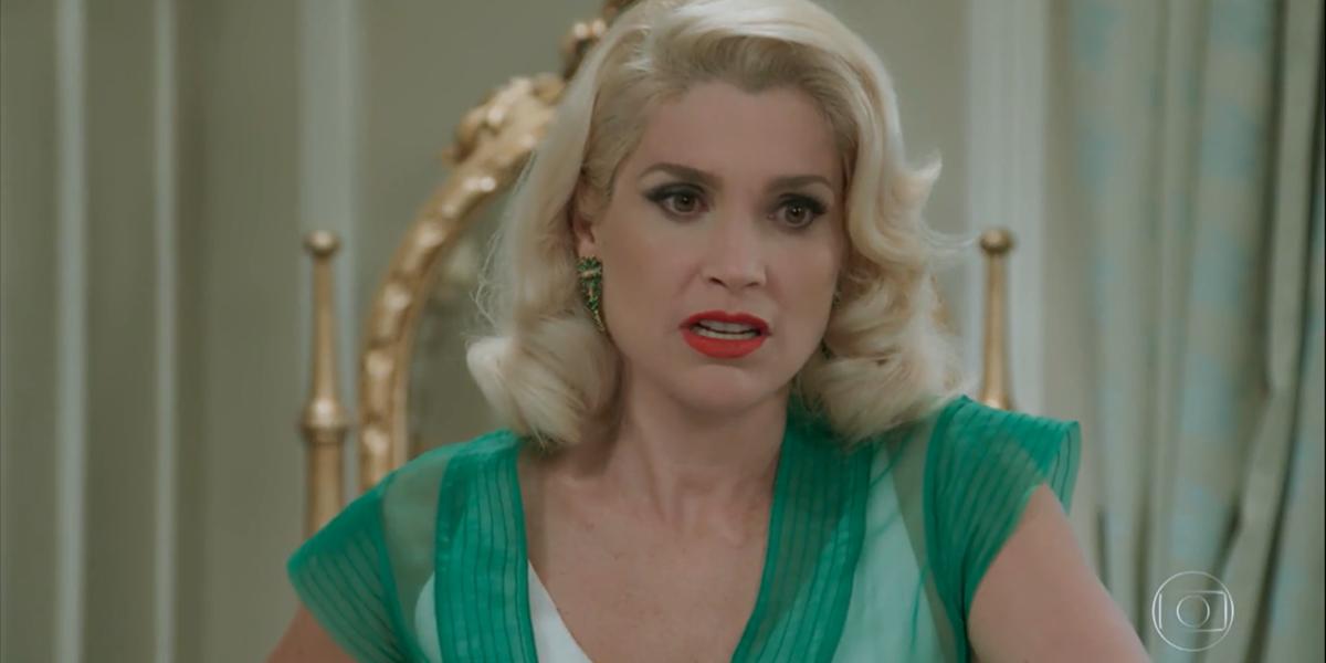 Flávia Alessandra (Sandra) em cena de Eta Mundo Bom; reprise do Vale a Pena levantou audiência da Globo (Foto: Reprodução/Globo)