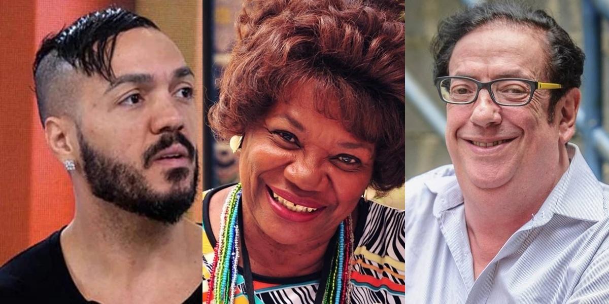 Belo, Beiçola e Neusa Borges perderam tudo (Foto montagem: TV Foco)